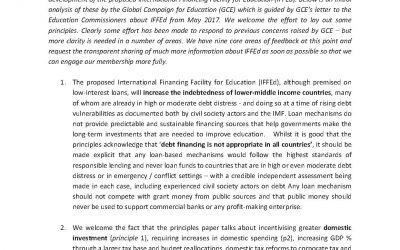 Zorgen GCE over voorstel Education Commission nog niet weggenomen