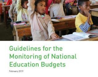 New GPE guide for monitoring education budgets