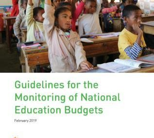GPE 2019 | Guidelines for the Monitoring of National Education Budgets