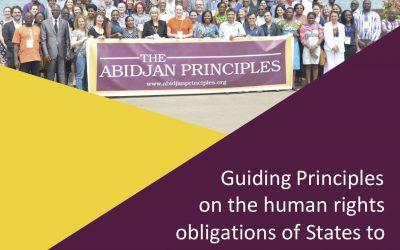 Nieuw baken voor het recht op onderwijs: Abidjan Principles